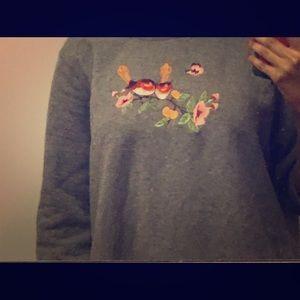 Cute oversized vintage sweatshirt